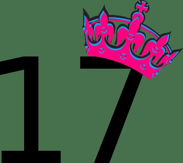 pink tilted tiara and