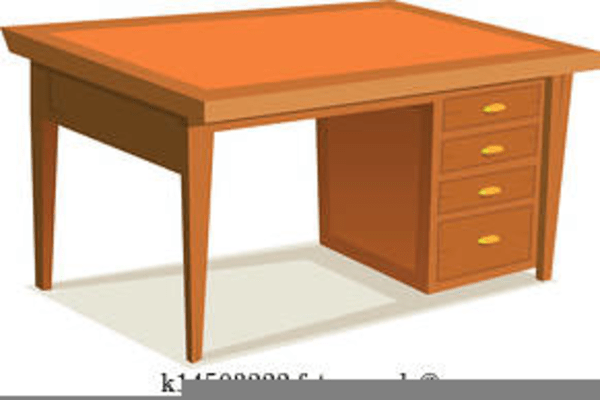 free desk clipart graphics