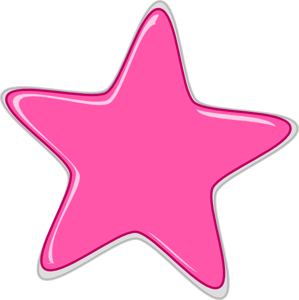 pink star edited2 clip art