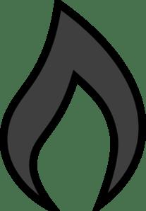 Flame 7 Clip Art at Clker - vector clip art online