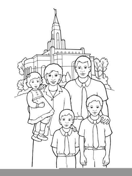 lds clipart eternal family  free images at clker