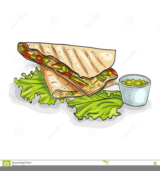 Clipart Of Mexican Food Quesadillas Free Images At Clker Com Vector Clip Art Online Royalty Free Public Domain