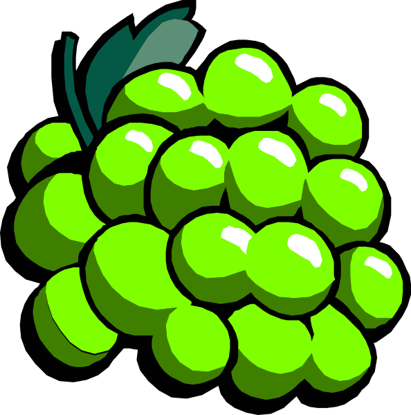 green grapes clip art