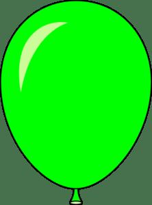 green balloon - light lft clip