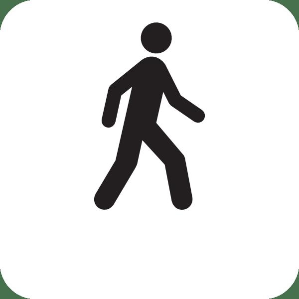man walking moving clip art