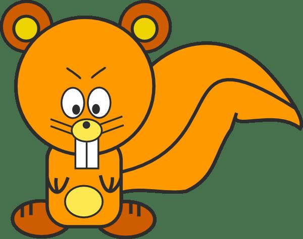 cartoon squirrel clip art