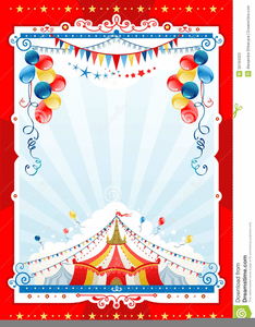 free carnival background clipart