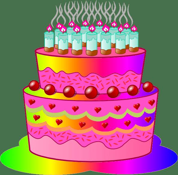 Art Clip Girl Cake