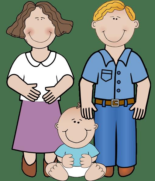 family unit clip art