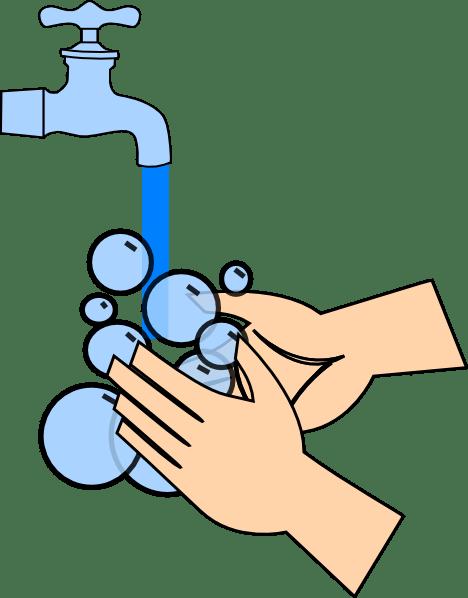 washing hands clip art
