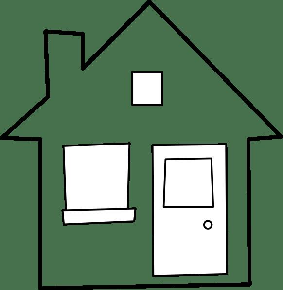 maison house clip art