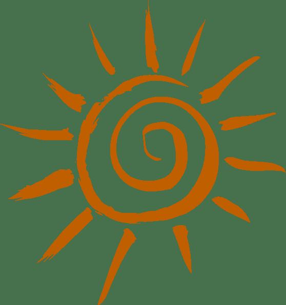 whimsical sun clip art