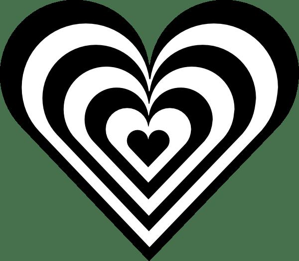 Zebra Heart Clip Art at Clkercom vector clip art online