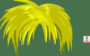 blond anime hair clip art