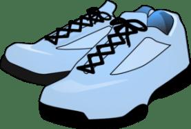 Robin S Egg Blue Shoes Clip Art