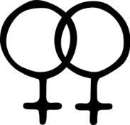 Female Homosexual Symbol Clip Art