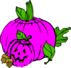 pink pumpkin dina fall clip art