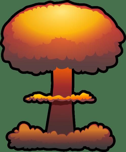 Nuclear Explosion Clip Art at Clkercom vector clip art