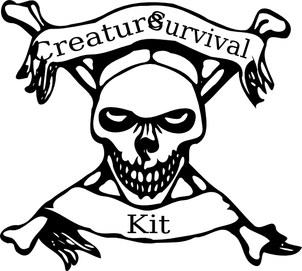 Royalty Free Survival Backpack Clip Art Vector Images