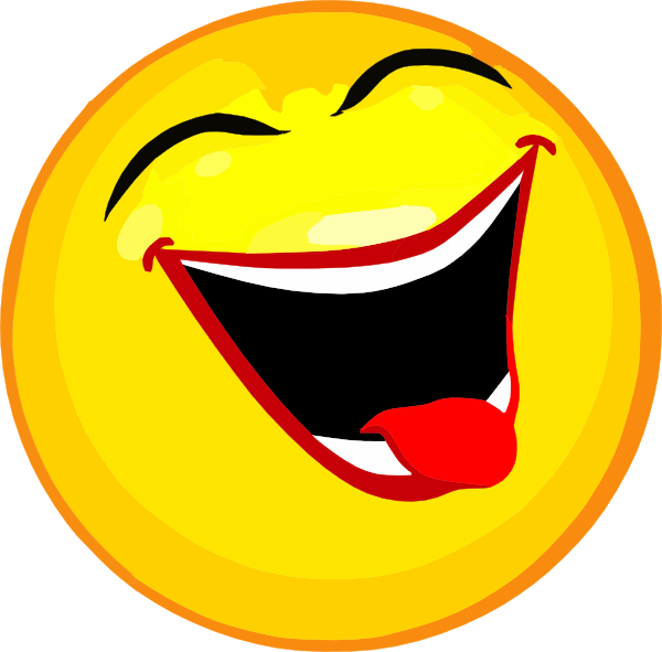 laugh clip art - vector