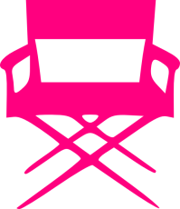 Director S Chair Pink Clip Art at Clker.com - vector clip ...