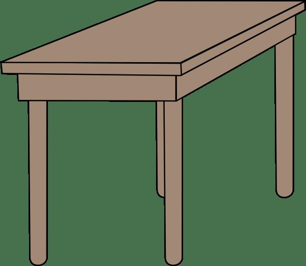 Student Desk Clip Art at Clkercom  vector clip art