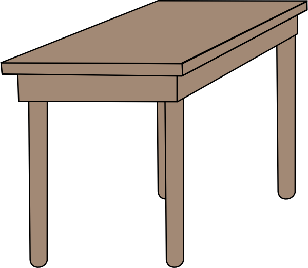 collapsible wooden chair west elm outdoor rocking student desk clip art at clker.com - vector online, royalty free & public domain