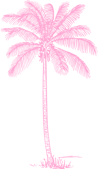 Animated Stars Wallpaper Light Pink Palm Tree Clip Art At Clker Com Vector Clip
