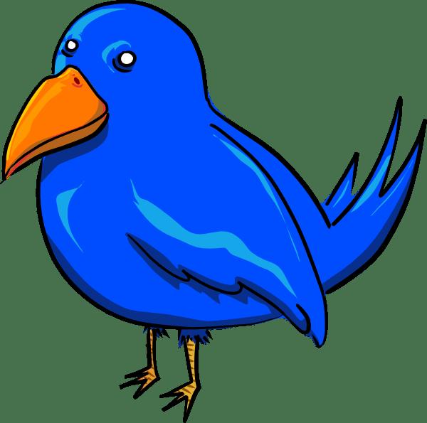 bird clip art - vector