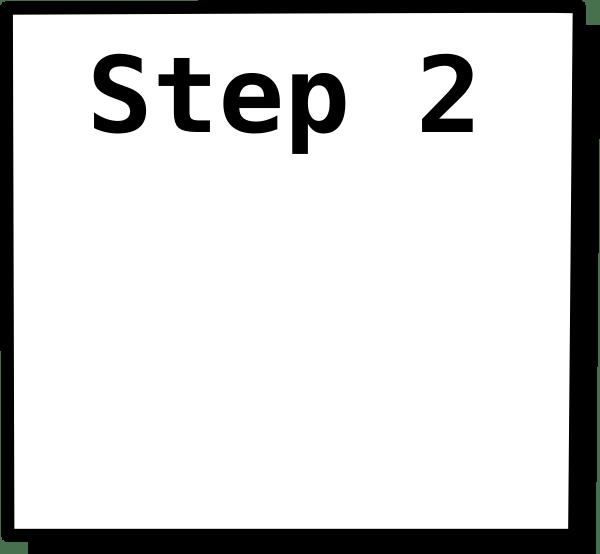 Step 2 Box Clip Art at Clkercom  vector clip art online