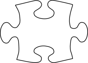 Puzzle piece large. Jig saw free download