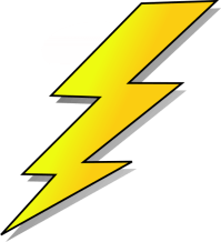 Easy To Draw Cartoon Lightning Pictures