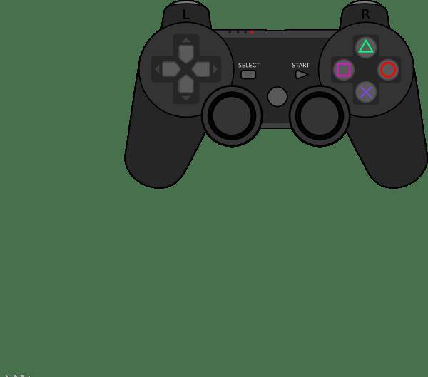 Playstation 2 Controller Outline