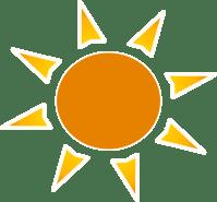 Sun Logo Clip Art at Clker.com - vector clip art online ...