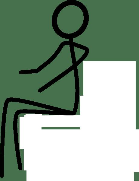 Stick Figure Laying Down