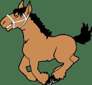 cartoon horse clip art