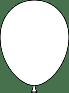 white balloon clip art