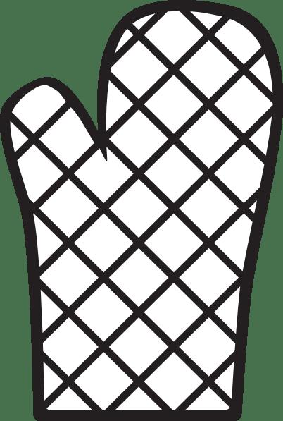 Oven Mitt Clip Art at Clkercom  vector clip art online