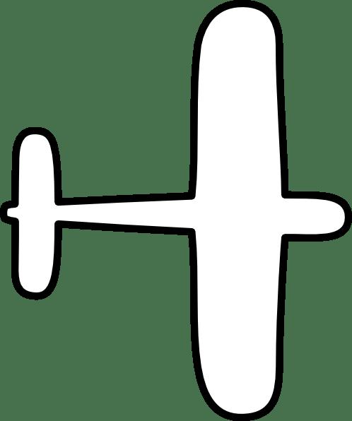 Aeroplane Drawing Outline