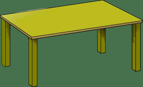 Gold Table Clip Art at Clker.com - vector clip art online. royalty free & public domain