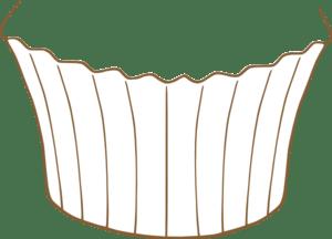 cupcake bottom clip art