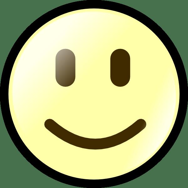 yellow happy face clip art