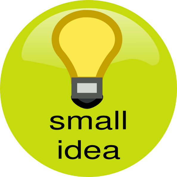 Small Idea Clip Art At Clker Com Vector Clip Art Online
