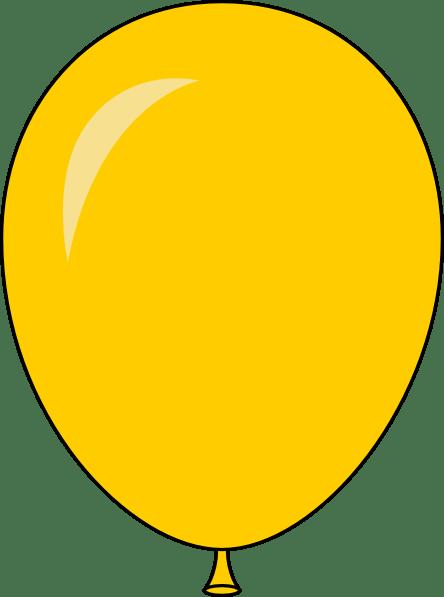 yellow balloon - light lft