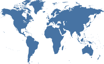 Image result for world map blue