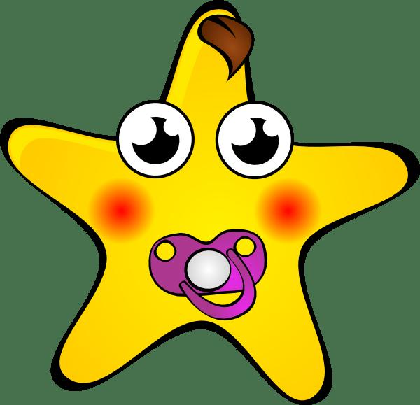 funny star clip art