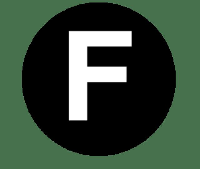White Letter F Clip Art