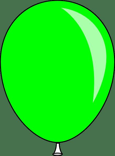 green baloon clip art