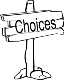 Image result for clipart Choice public domain