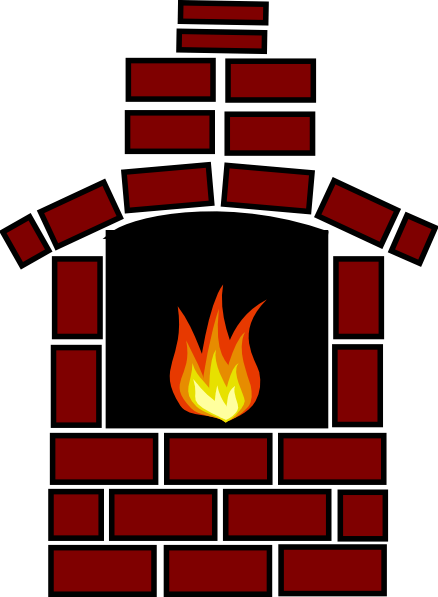 Brick Oven With Flame Clip Art at Clkercom  vector clip art online royalty free  public domain